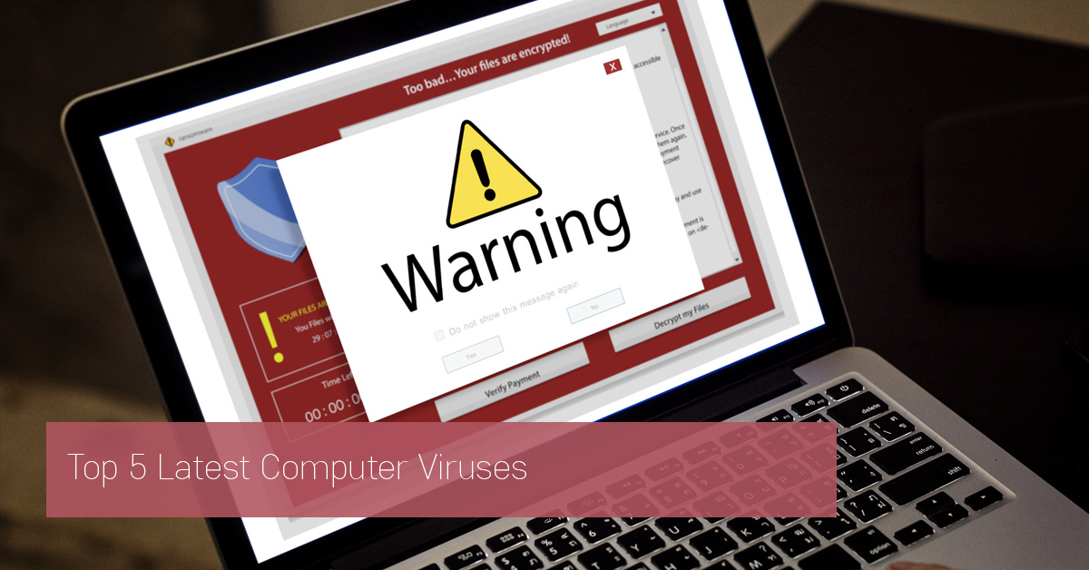 warning icon on computer